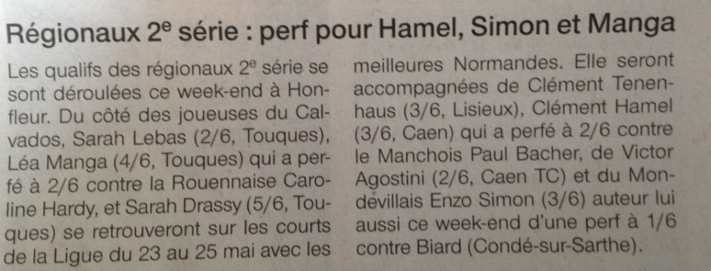 Ouest France 20150414